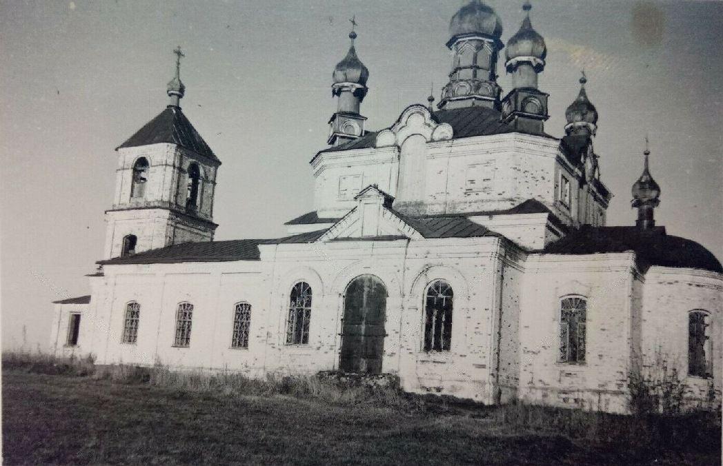 Церковь Успения Пресвятой Богородицы, Дентялево