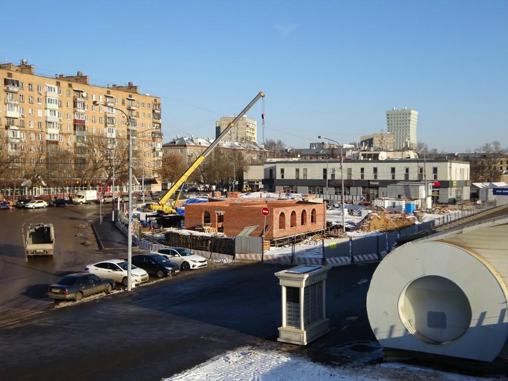 Церковь Казанской иконы Божией Матери в Лосиноостровском (строящаяся), Москва