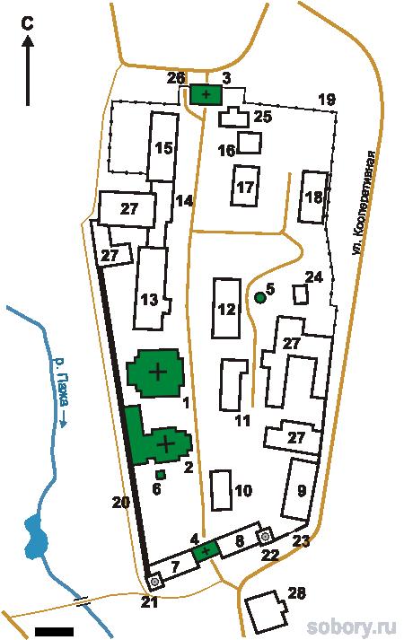 План Покровского Хотькова