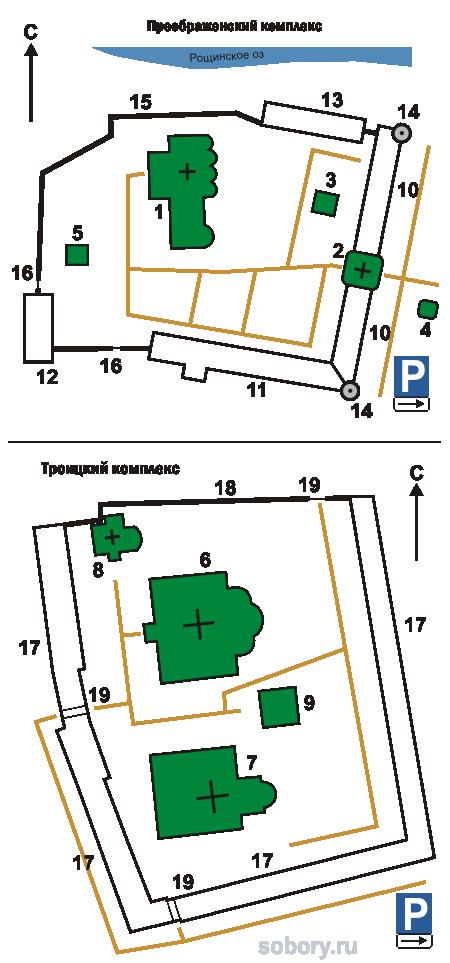 План Алескандро-Свирский монастыря, Старая Слобода