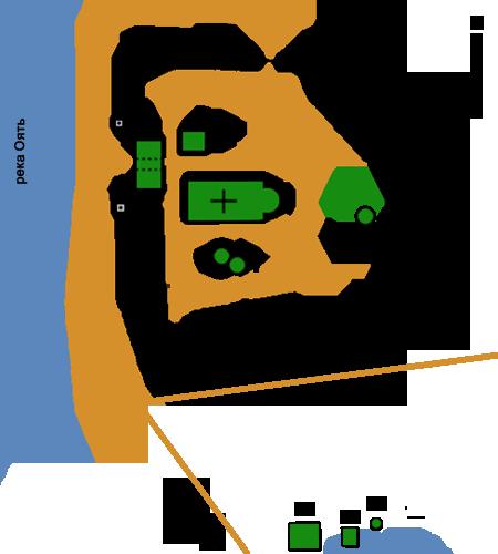 Храмы монастыря: