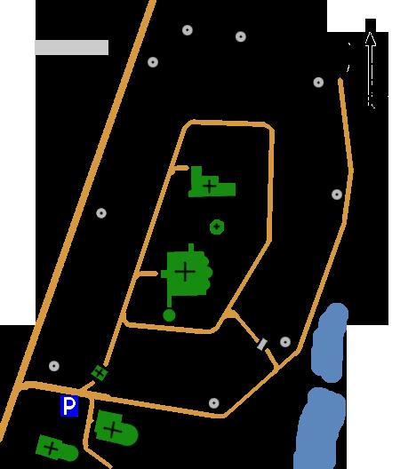 План Покровского монастыря, Суздаль
