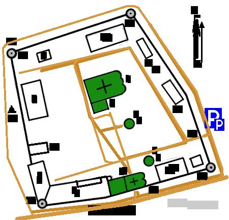 План Борисоглебского монастыря, Дмитров