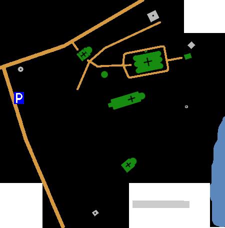План Трифонова монастыря, Вятка(Киров)