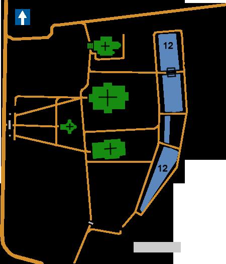 План Ансамбль Никольской,Покровской и Христорождественской церквей Рогожском кладбище, Москва