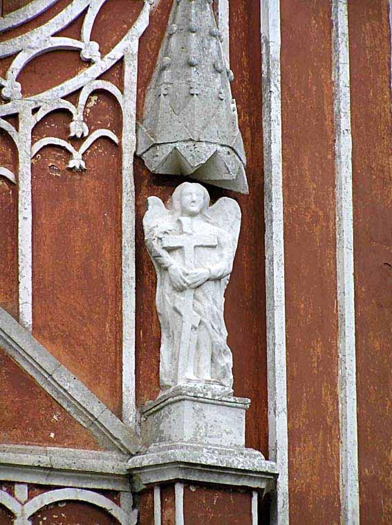 Тверская область, Старицкий район, Красное. Церковь Спаса Преображения, фотография. архитектурные детали,