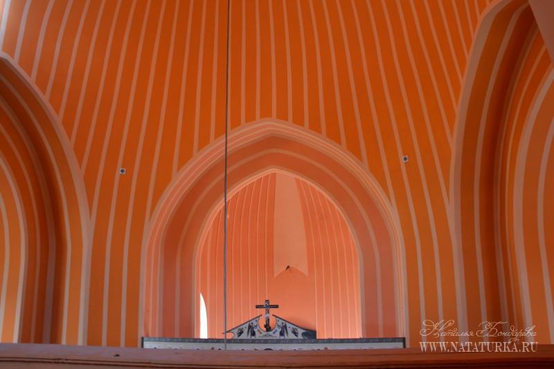 Тверская область, Старицкий район, Красное. Церковь Спаса Преображения, фотография. интерьер и убранство