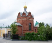Омск. Иверской иконы Божией Матери (воссозданная), часовня