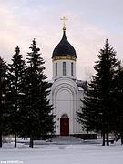 Церковь Георгия Победоносца, Александра Невского и Димитрия Донского - Омск - Омск, город - Омская область