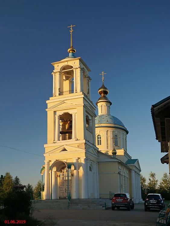 Московская область, Сергиево-Посадский городской округ, Бужаниново. Церковь Николая Чудотворца, фотография.