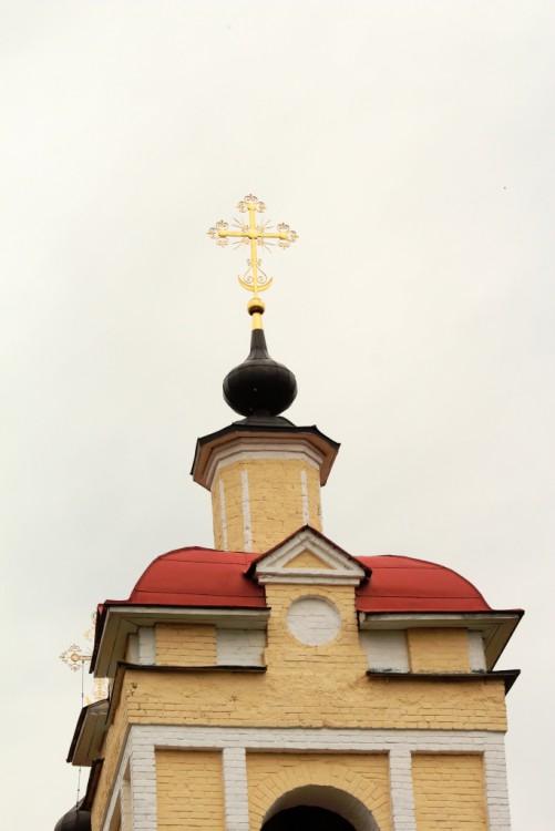 Московская область, Сергиево-Посадский городской округ, Слотино. Церковь Иоанна Богослова, фотография. архитектурные детали, Завершение колокольни