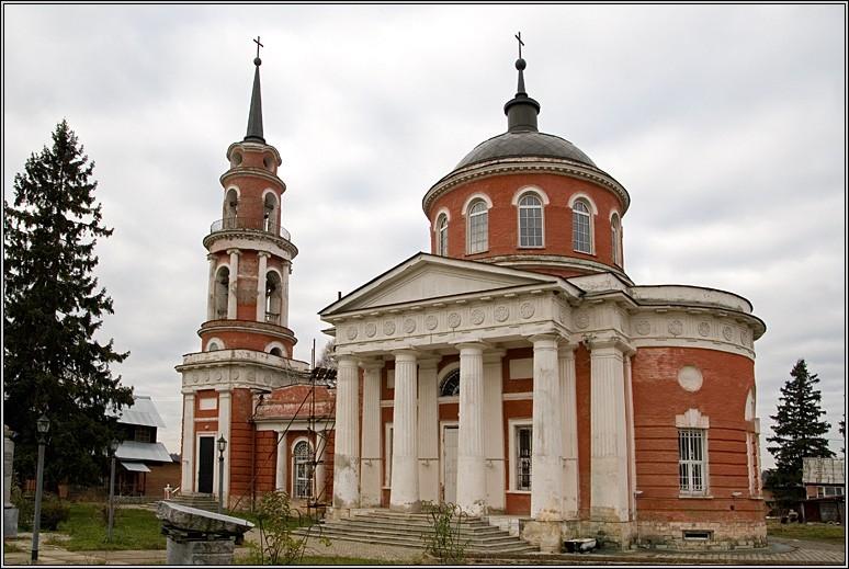 Церковь Ахтырской иконы Божией Матери, Ахтырка