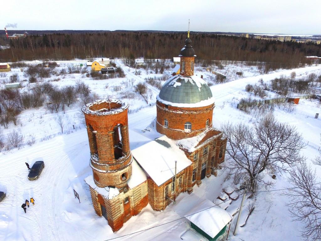 Церковь Богоявления Господня, Парфеново