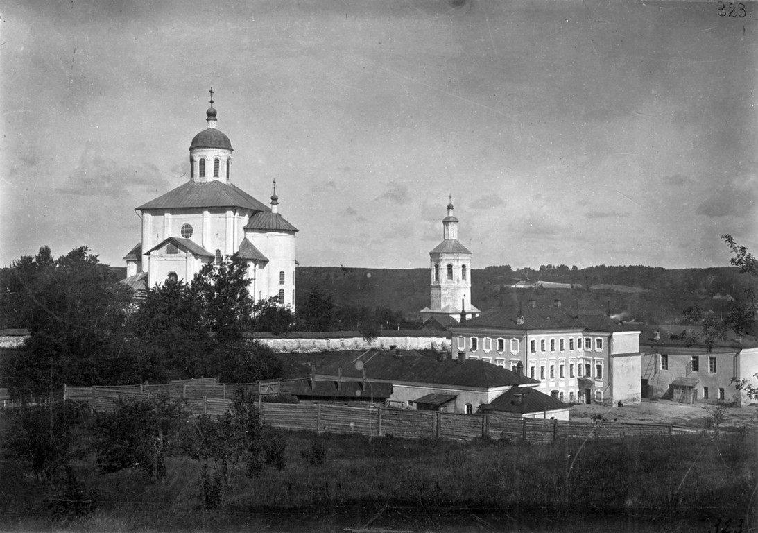 Смоленская область, Смоленск, город, Смоленск. Церковь Михаила Архангела (Свирская) на Пристани, фотография. архивная фотография, Фото 1909 года