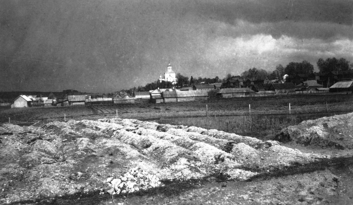 Смоленская область, Смоленск, город, Смоленск. Церковь Михаила Архангела (Свирская) на Пристани, фотография. архивная фотография, Фото начала 1909 г.