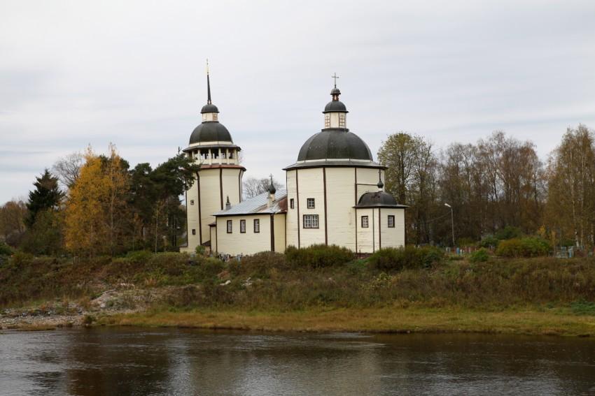 Церковь Воскресения Христова, Курпово (Важины)