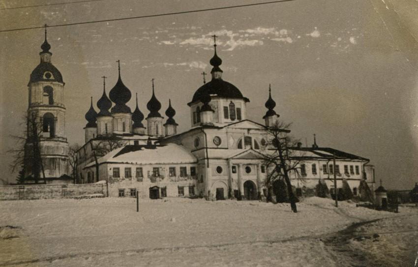 Ивановская область, Шуйский район, Введеньё. Николо-Шартомский мужской монастырь, фотография. архивная фотография
