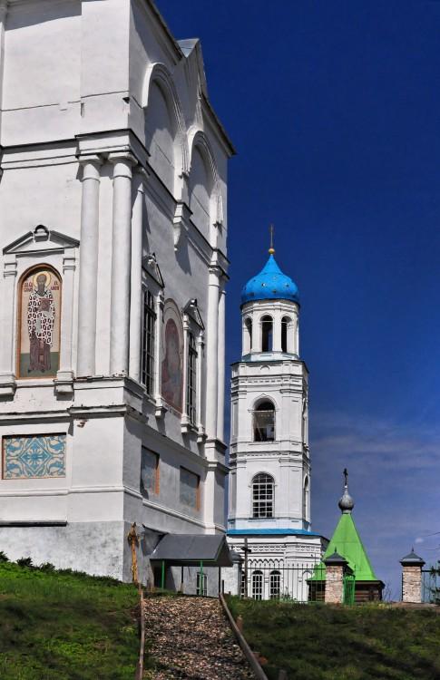 Костромская область, Чухломский район, Ножкино. Покровский Авраамиево-Городецкий монастырь, фотография. фасады