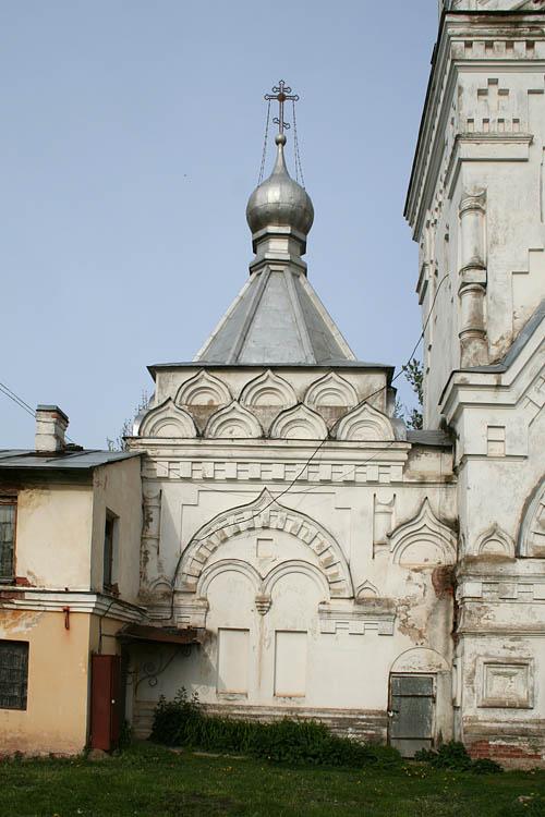 Новгородская область, Великий Новгород, город, Великий Новгород. Десятинный монастырь, фотография. архитектурные детали