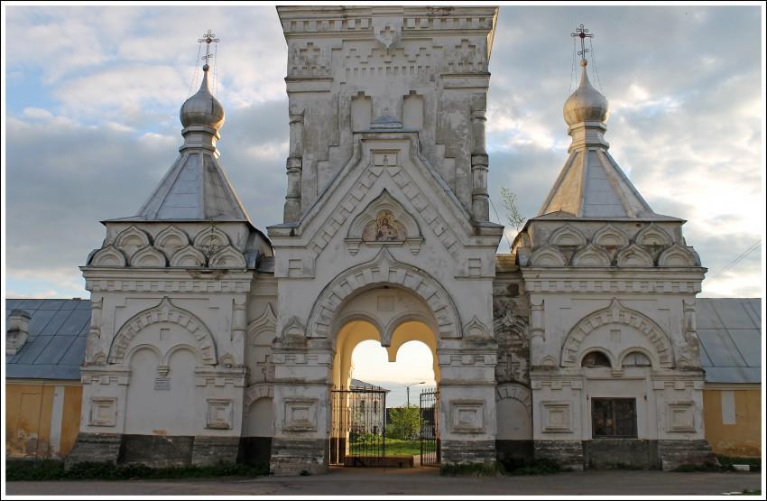 Новгородская область, Великий Новгород, город, Великий Новгород. Десятинный монастырь, фотография. фасады