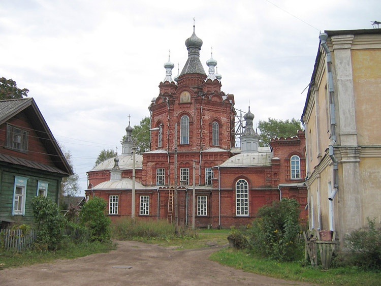 Знаменский женский монастырь, Осташков