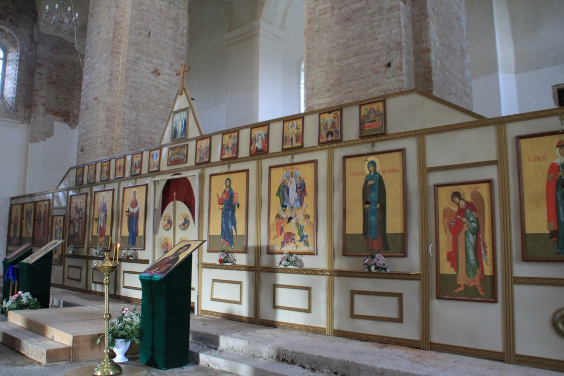 Ольгинский монастырь. Церковь Спаса Преображения, Волговерховье