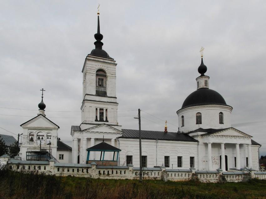 Владимирская область, Юрьев-Польский район, Новое. Никольский женский монастырь, фотография. фасады