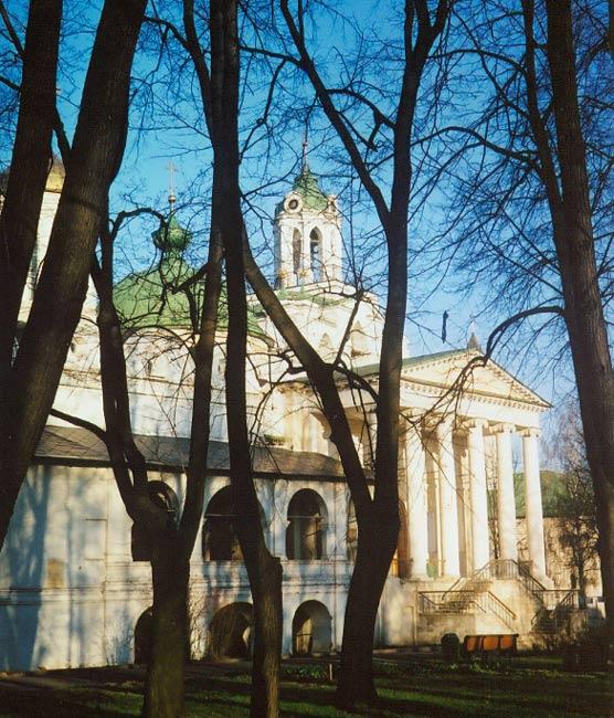 Ярославская область, Ярославль, город, Ярославль. Спасо-Преображенский монастырь, фотография. фасады