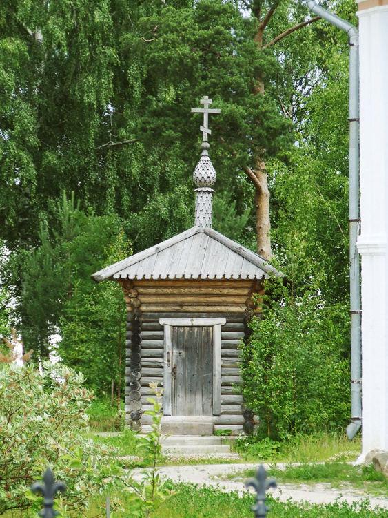 Спасо-Прилуцкий мужской монастырь. Неизвестная водосвятная часовня, Прилуки