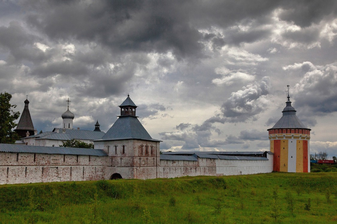 Вологодская область, Вологда, город, Прилуки. Спасо-Прилуцкий мужской монастырь, фотография. дополнительная информация