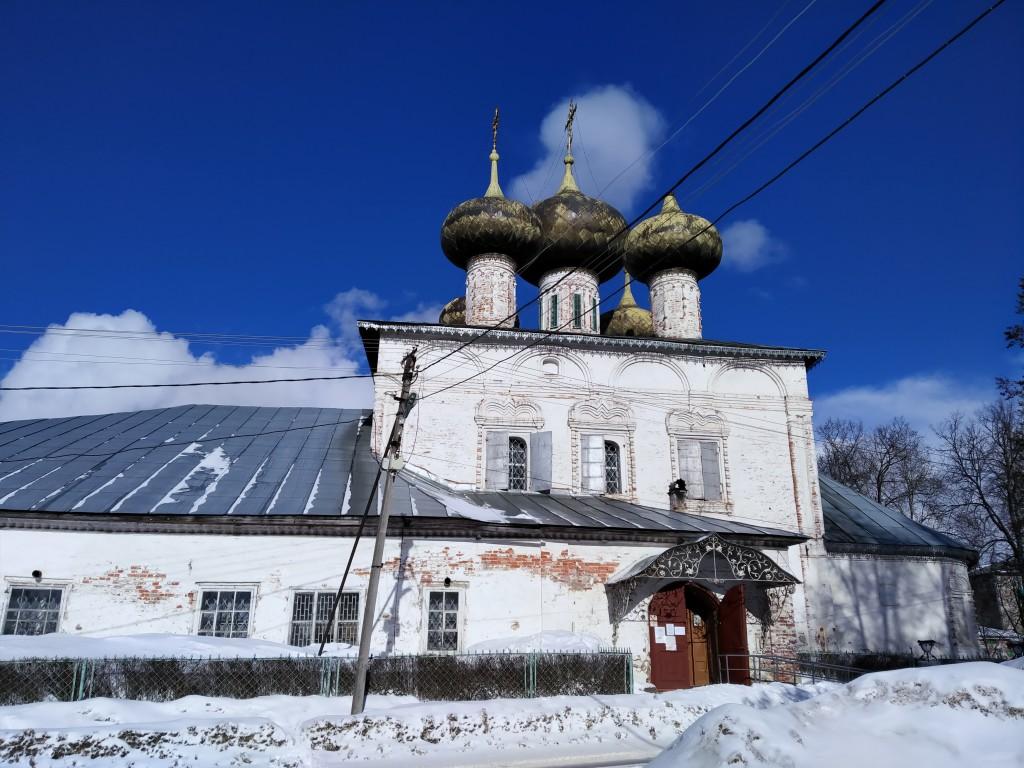 Вологодская область, Устюженский район, Устюжна. Собор Рождества Пресвятой Богородицы, фотография.