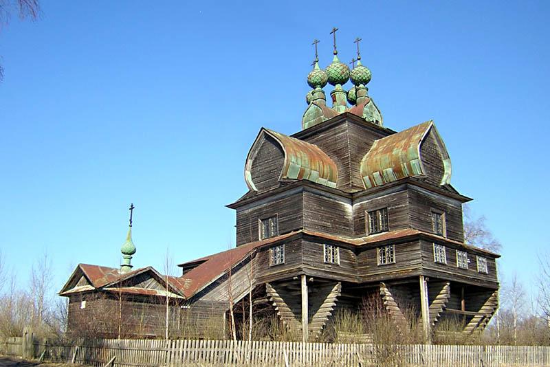 Церковь Успения Пресвятой Богородицы, Нелазское