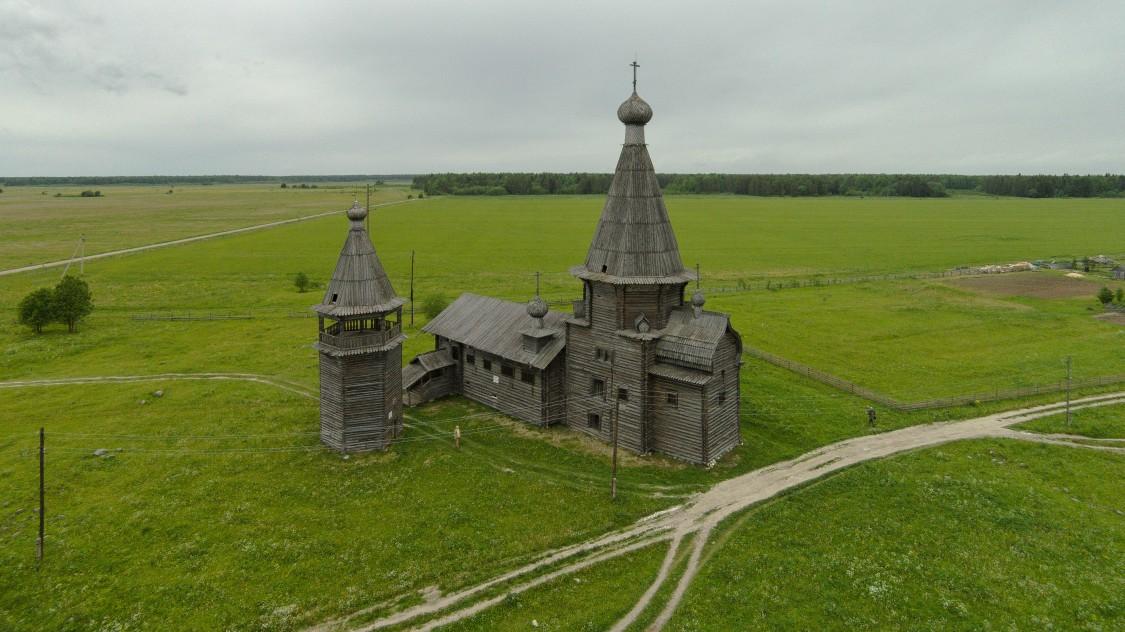 Церковь Иоанна Златоуста-Саунино-Каргопольский район-Архангельская область