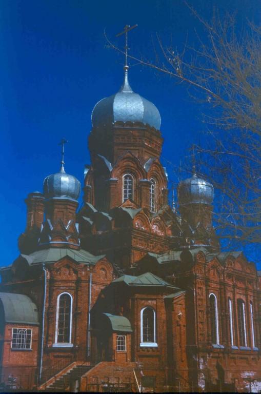 Московская область, Орехово-Зуевский городской округ, Ликино-Дулёво. Церковь Иоанна Богослова, фотография.