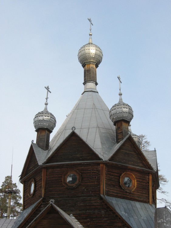 Церковь Николая Чудотворца, Ахуны