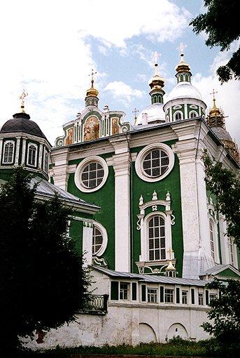 Смоленская область, Смоленск, город, Смоленск. Кафедральный собор Успения Пресвятой Богородицы, фотография. архитектурные детали,