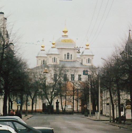 Ярославская область, Ярославль, город, Ярославль. Казанский монастырь, фотография. фасады