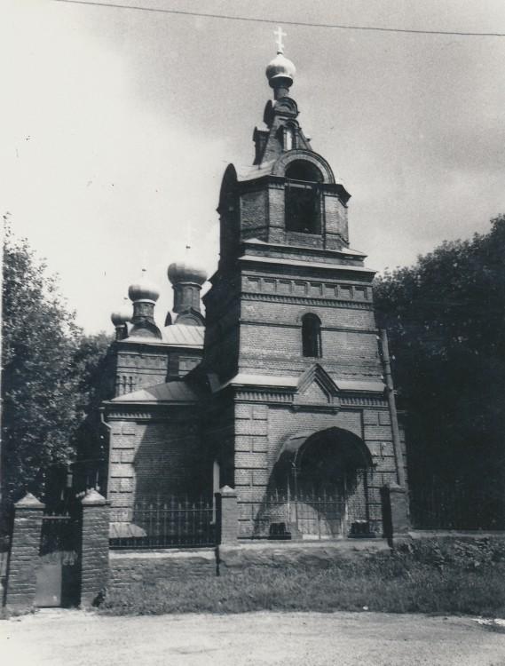 Церковь Спаса Нерукотворного Образа в Большом Свинорье, Москва