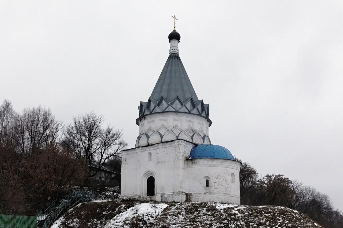 Владимирская область, Муромский район и г. Муром, Муром. Церковь Космы и Дамиана, фотография. общий вид в ландшафте