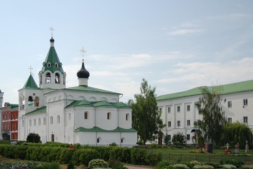 Владимирская область, Муромский район и г. Муром, Муром. Спасский мужской монастырь, фотография. фасады