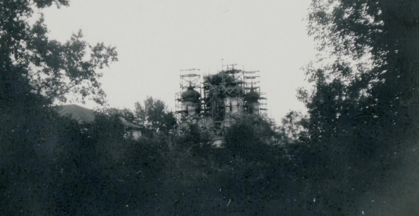 Владимирская область, Муромский район и г. Муром, Муром. Спасский мужской монастырь, фотография. архивная фотография