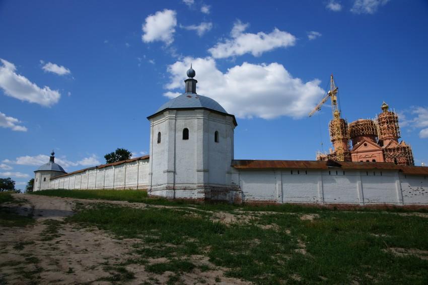 Брянская область, Брянский район, Супонево. Свенский Успенский монастырь, фотография. фасады
