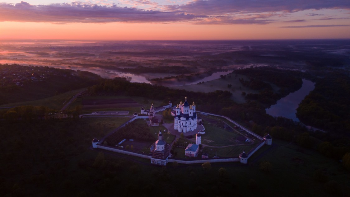 Брянская область, Брянский район, Супонево. Свенский Успенский монастырь, фотография.