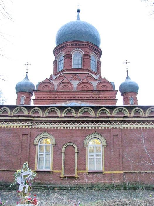 Брянская область, Трубчевский район, Трубчевск. Церковь Илии Пророка, фотография. фасады