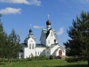 Петергоф. Троицы Живоначальной на Петергофском городском (Бабигонском) кладбище, церковь