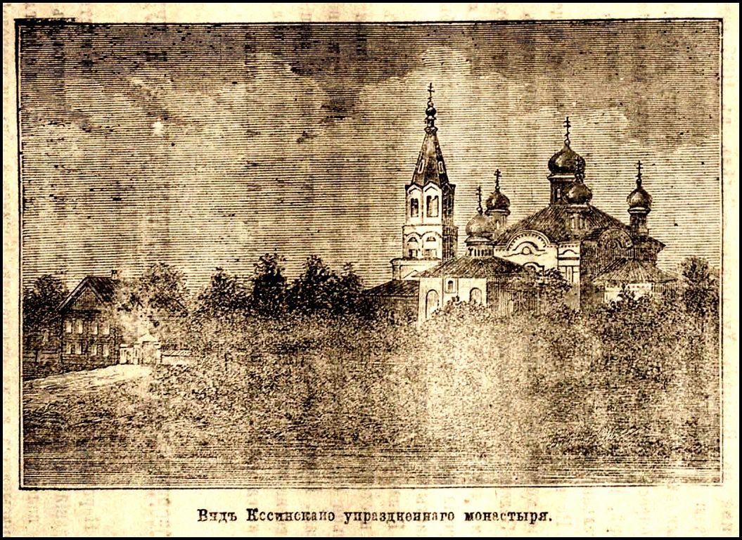 Новгородская область, Старорусский район, Косино. Никольский Косинский монастырь, фотография. архивная фотография,