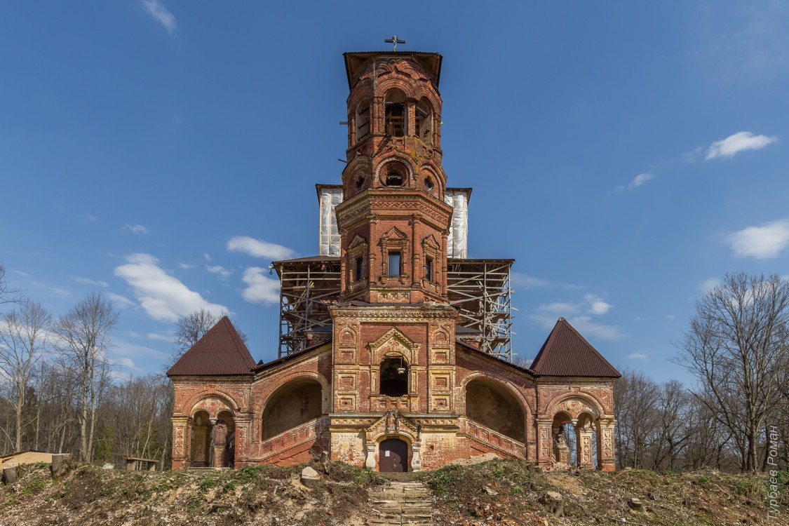 Церковь Тихвинской иконы Божией Матери, Высокое