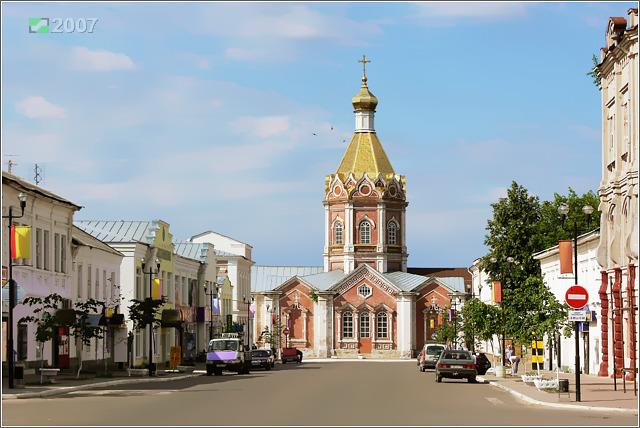 Кафедральный собор Вознесения Господня, Касимов