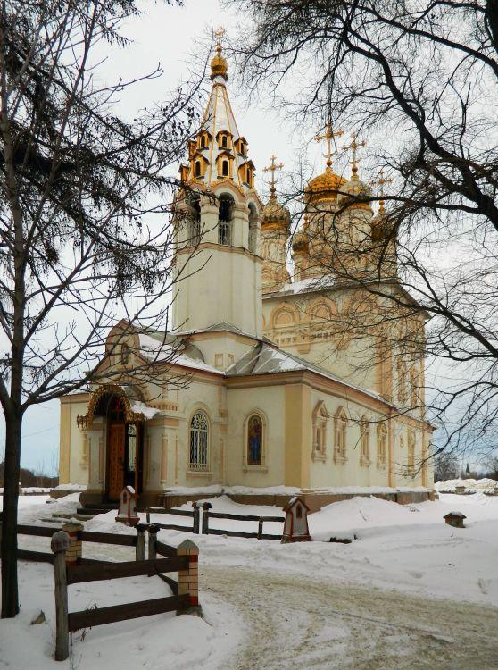 Рязанская область, Рязань, город, Рязань. Церковь Спаса Преображения на Яру, фотография. фасады