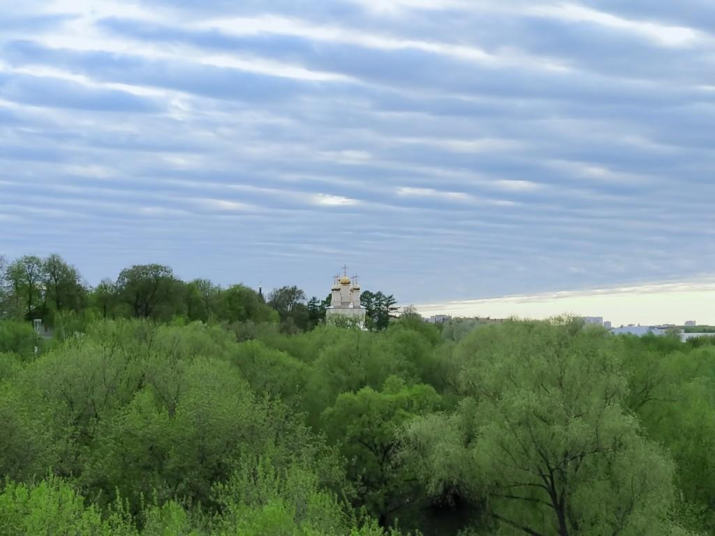 Рязанская область, Рязань, город, Рязань. Церковь Спаса Преображения на Яру, фотография. художественные фотографии